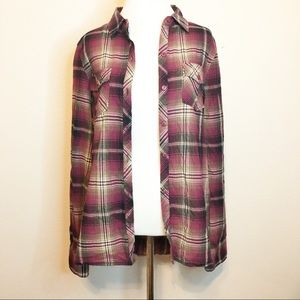 Eden Olivia Anthropologie Plaid Country Flannel